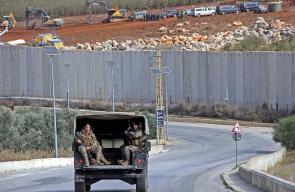 دوريات الجيش اللبناني على الحدود مع فلسطين المحتلة