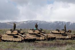 الاحتلال يستهدف موقعاً للنظام السوري بالجولان