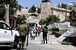 """رئيس الكنيست يدعو إلى ضم الخليل """"لإسرائيل"""""""