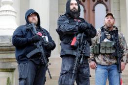 """جماعة مسلحة تخطط """"لانتفاضة ضخمة"""" إذا تمّ عزل ترامب"""