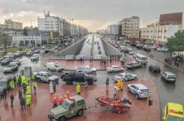 سيول لم تحدث منذ 20 عاما.. تنبيهات لـ 10 مناطق في السعودية بسبب الأحوال الجوية