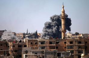 طائرات الأسد تواصل قصف الأحياء السكنية في مدينة درعا جنوبي سوريا