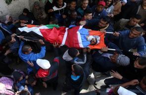 طولكرم تشيع جثمان الشهيد محمد حبالي