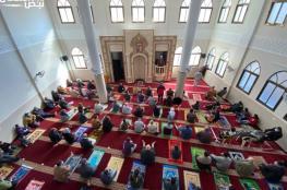 بعد توقف لنحو 40 يومًا.. مواطنو قطاع غزة يستأنفون أداء صلاة الجمعة في المساجد