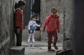 جانب من الحياة اليومية في مخيم جباليا شمال قطاع غزة