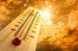 أجواء جافة وشديدة الحرارة