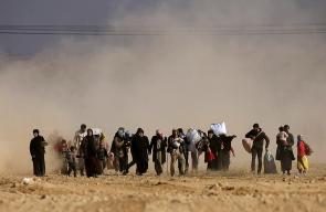 مأساة النزوح من الموصل.. مشاهد تختصر الوصف