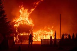 البيت الأبيض يعلن حالة الطوارئ في كاليفورنيا جراء الحرائق