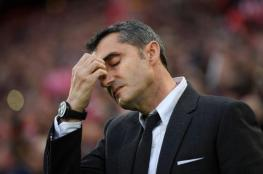 صحيفة إسبانية: اليوم موعد إعلان إقالة برشلونة لفالفيردي