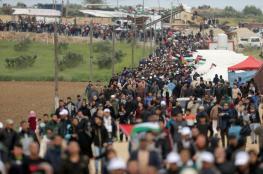 الهيئة الوطنية لمسيرة العودة تعلن تقديم المخيمات نحو السياج