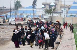 تواصل موجة النزوح من الموصل