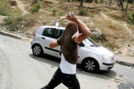 إصابة مستوطنين اثنين رشقا بالحجارة قرب رام الله