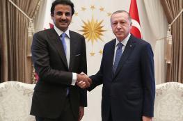 تغريدة لأمير قطر بعد جلسة مع أردوغان.. ماذا وعد؟