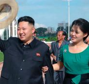 North-Korean-leader-Kim-Jong-Un-and-his-wife-Ri-Sol-Ju