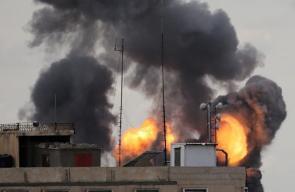 الغارات الإسرائيلية على قطاع غزة