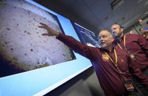 هبوط المركبة الفضائية إنسايت على سطح المريخ