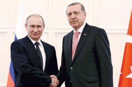 أردوغان وبوتين يتفقان على إنشاء منطقة منزوعة السلاح بإدلب
