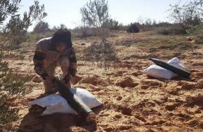 تنظيم الدولة في سيناء ينشر صور للحظة إطلاق الصواريخ على الجنوب الفلسطيني المحتلة قبل ايام