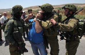 جيش الاحتلال يقمع فعاليات سلمية تضامنية مع الأسرى بالضفة الغربية المحتلة