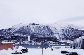 صور جميلة التقطت للثلوج في النرويج