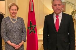 سفيرة المغرب في أمريكا تلتقي جلعاد إردان