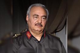 """حفتر: السيسي ظهر للقضاء على الإخوان ويجب وضع قطر في """"خانة الإرهاب"""""""