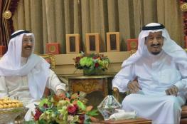 رسالة من أمير الكويت إلى الملك السعودي