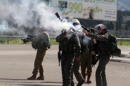 نابلس: اصابات بالاختناق في صفوف طلبة عوريف خلال مواجهات مع الاحتلال