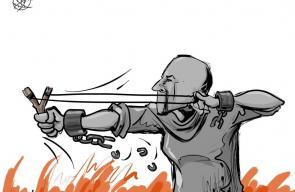 كاريكاتير سباعنة   #اضراب_الكرامة