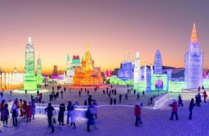 نماذج مدن مصغرة في مهرجان