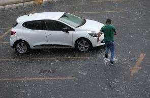 أمطار غزيرة تهطل على إسطنبول