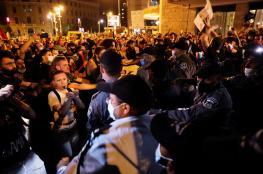 آلاف المستوطنين يتظاهرون للمطالبة باستقالة نتنياهو