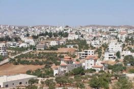 الاحتلال يستولي على 193 دونما شرق رام الله