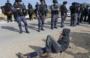 اقتحام قوات الاحتلال قرية ام الحيران في النقب المحتل