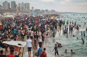هكذا بدا المشهد في بحر غزة