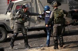 الصحفي الفلسطيني في مرمى الاستهداف الاسرائيلي