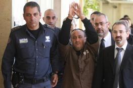 الاحتلال يقضي بإلزام السلطة و4 أسرى من بينهم البرغوثي بدفع تعويضات لمستوطنين