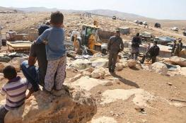 Israeli bulldozers level land anew around Khan al-Ahmar