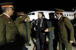 حفتر يصل القاهرة وترتيبات للقاء مع السيسي