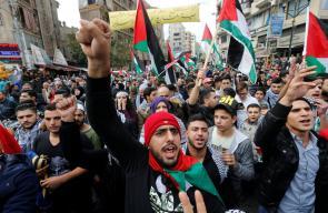 مسيرات حاشدة في جميع محافظات الوطن في جمعة النفير للقدس