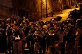 القدس تتحول لساحة حرب الليلة الماضية