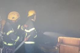 إصابات حرجة جرّاء حريق بمنزل في بيت لحم