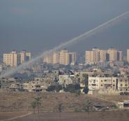 gaza rocket human shields