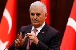 يلدريم: الضربات ضد الأسد إيجابية لكنها غير كافية لتحقيق السلام