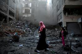 Gaza homes, TV station building bombed by Israel