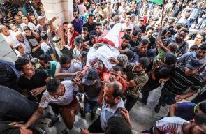 قطاع غزة يودع أربعة شهداء ارتقوا برصاص الاحتلال