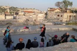 مستوطِنات متطرفات يقتحمن سطوح الخان في القدس القديمة