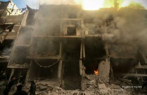 غارات جوية لطائرات النظام السوري على أحياء دوما في الغوطة الشرقية