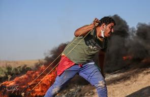 إصابات في مواجهات متفرقة مع الاحتلال على حدود غزة أمس
