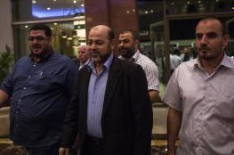 وفد من حماس برئاسة أبو مرزوق يصل إلى موسكو